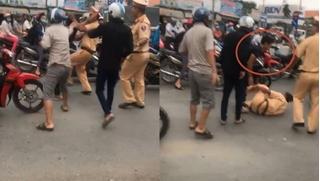 Kẻ lăng mạ, xô ngã CSGT ở Đồng Nai bị tạm giữ hình sự