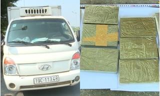 Vĩnh Phúc: CSGT chặn bắt xe tải chở 10 bánh ma túy
