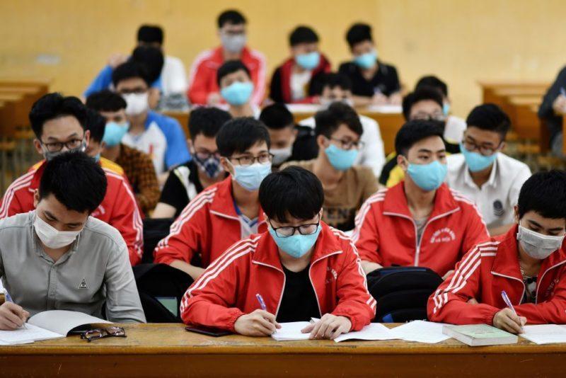Một trường Đại học ở TP HCM cho sinh viên nghỉ gần hết tháng 6