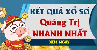 XSQT 1/10 - Kết quả xổ số Quảng Trị hôm nay thứ 5 ngày 1/10/2020