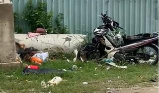 Hai tên cướp điện thoạt xịt hơi cay khiến người đàn ông ngã xe tử vong