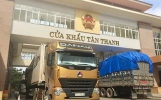 Cửa khẩu Tân Thanh tăng thời gian thông quan hàng hóa từ 1/5