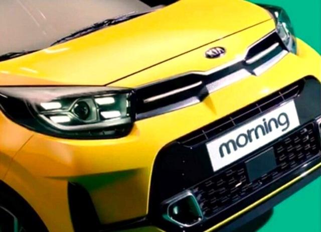 Kia Morning 2021 giá rẻ lần đầu lộ diện2