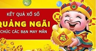 XSQNG 2/5 - Kết quả xổ số Quảng Ngãi hôm nay thứ 7 ngày 2/5/2020