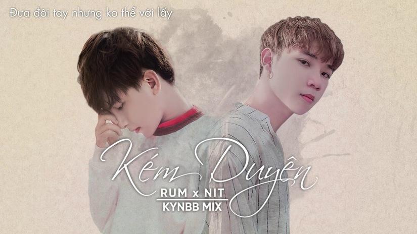 Lời bài hát Kém duyên Lyrics của Rum, NIT và Masew