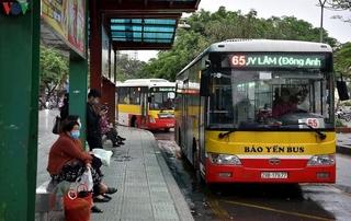 Từ ngày mai, xe buýt Hà Nội hoạt động trở lại