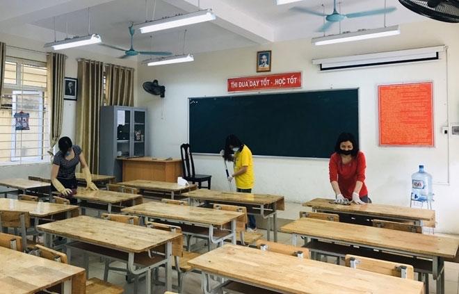 Hà Nội lập 6 đoàn kiểm tra việc chống dịch Covid-19 tại trường học