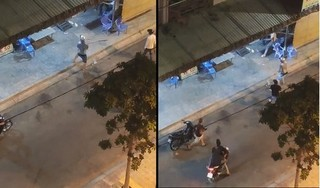 Nhóm đối tượng hỗn chiến, nổ súng như phim hành động ở TP HCM