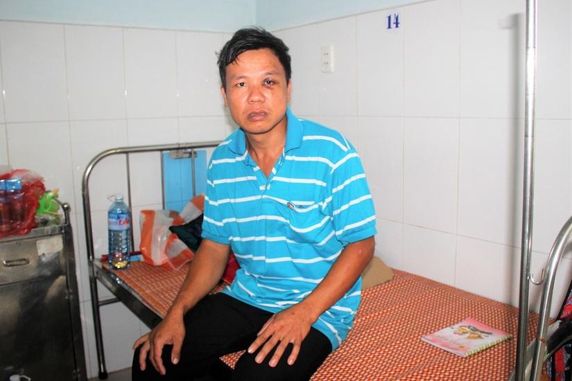 Người đàn ông tố bị Cựu Phó trưởng công an xã xông vào nhà hành hung nhập viện