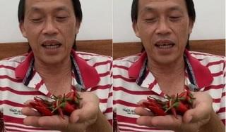 Hoài Linh livestream bán ớt để mua cơm và cá khô