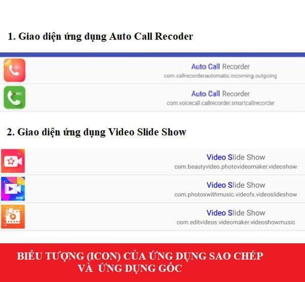Cảnh báo ứng dụng sao chép thông tin trên điện thoại Android