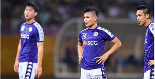Hà Nội FC 'thủng' hàng thủ trước lượt trận vòng 3 V.League