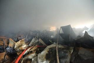 Cháy lớn tại Khu công nghiệp Phú Thị, Gia Lâm