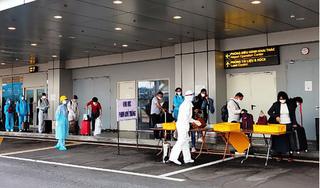 Chuyến bay đưa 224 người Việt từ Pháp về nước được cách ly y tế