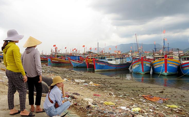 Việt Nam đang có khoảng 10000 tàu cá mắc cạn, tạm nằm bờ