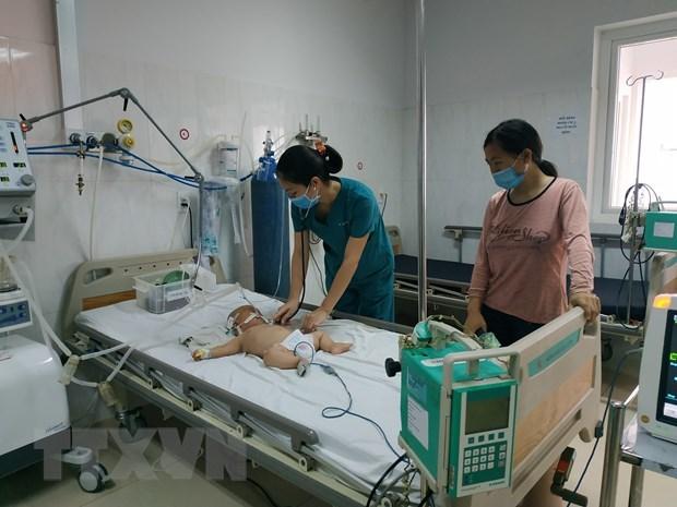 Bé trai 5 tháng tuổi đã mắc viêm não Nhật Bản B tại Đắk Lắk
