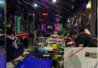 15 'nam thanh nữ tú' sử dụng ma tuý trong quán karaoke ở Quảng Ninh