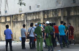 Khám nghiệm hiện trường vụ hoả hoạn ở KCN Phú Thị khiến 3 người tử vong