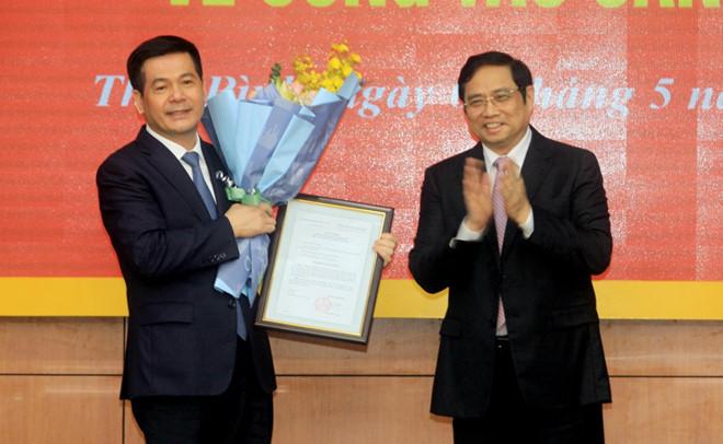 Bí thư tỉnh ủy Thái Bình được điều động chức vụ mới