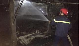 Hỏa hoạn thiêu rụi nhiều ki ốt ở chợ, thiệt hại hơn 1 tỷ đồng