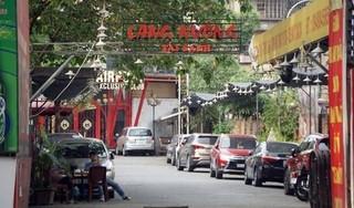 Xử lý sai phạm của các nhà hàng, quán bar, bãi trông xe ở phố Chùa Bộc