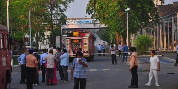 Khí độc tại nhà máy Ấn Độ bị rò rỉ khiến 11 người chết