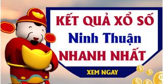 XSNT 7/8 - Kết quả xổ số Ninh Thuận hôm nay thứ 6 ngày 7/8/2020