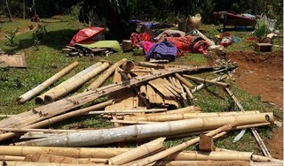 Lốc xoáy kinh hoàng trong đêm, hàng trăm ngôi nhà ở Nghệ An hư hỏng