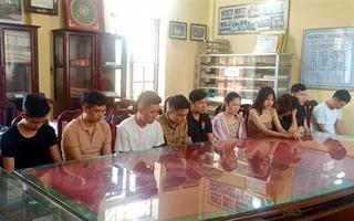 13 đối tượng tụ tập 'bay lắc' trong quán karaoke tại Nam Định