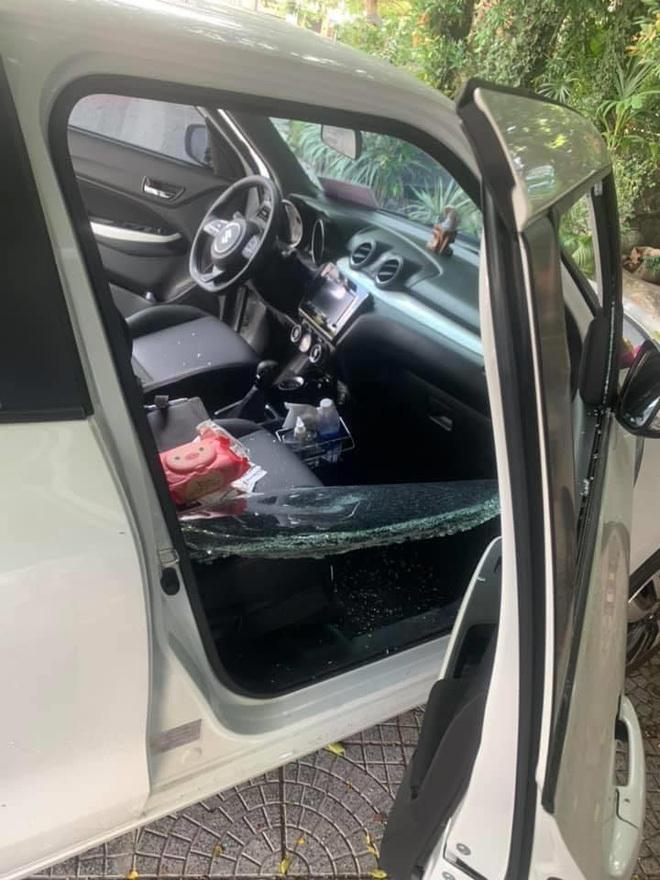 Đà Nẵng: Hàng loạt xế hộp 'hạng sang' bị đập phá, trộm tài sản 2
