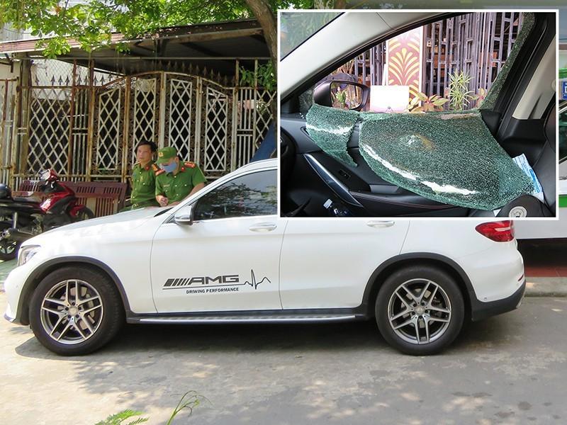 Đà Nẵng: Hàng loạt xế hộp 'hạng sang' bị đập phá, trộm tài sản 3