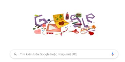Google Doodle hôm nay 10/5: Mừng Ngày của Mẹ với thiệp tự thiết kế bằng cả tấm lòng