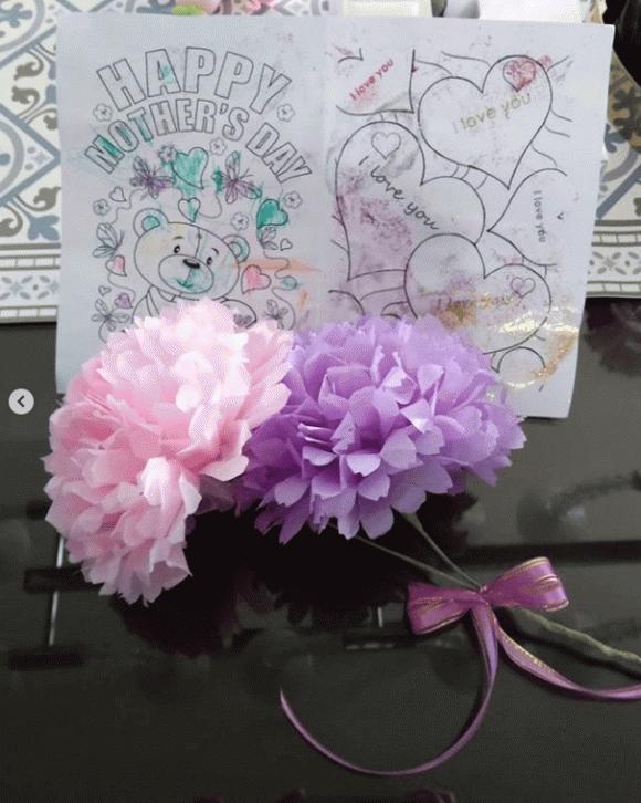 Lâm Tâm Như hạnh phúc khi nhận được quà của con gái