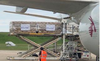 Pháp thiết lập cầu hàng không nhập khẩu hàng trăm triệu khẩu trang Việt Nam