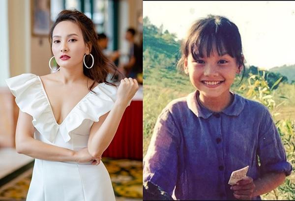 Mỹ nhân Việt khoe ảnh thời thơ ấu chứng minh nhan sắc đẹp từ bé