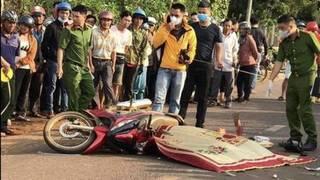 Xe máy chở 4 gặp nạn khiến 2 người tử vong tại chỗ