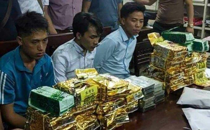 Ba người vận chuyển hơn 40 kg ma túy