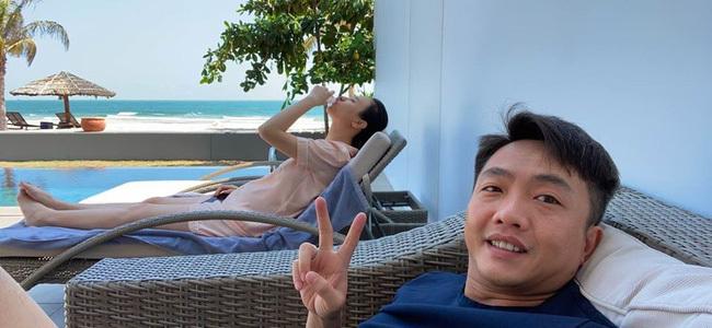 Cường Đô La Lỡ vô tình để lộ chuyện bà xã Đàm Thu Trang sắp sửa sinh con?