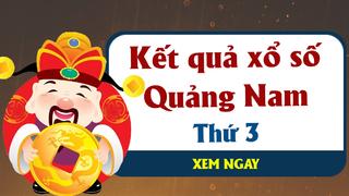 XSQNA 20/10 - Kết quả xổ số Quảng Nam hôm nay thứ 3 ngày 20/10/2020