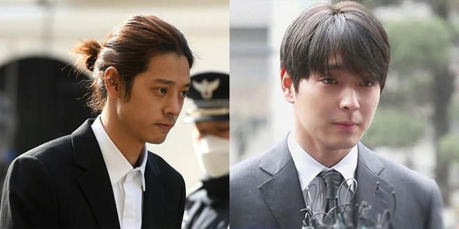 Nam nghệ sĩ Jung Jon Young và Choi Jong Hoon được giảm án