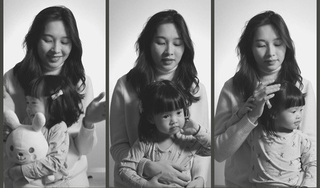 Hiếm khi lộ diện, con gái Hoa hậu Đặng Thu Thảo khiến dân tình xuýt xoa vì quá đáng yêu