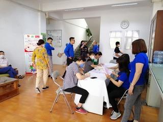 Đoàn viên, thanh niên Urenco hưởng ứng ngày hiến máu tình nguyện