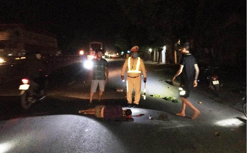 Đã xác định được danh tính tài xế tông người phụ nữ rồi bỏ trốn ở Thanh Hóa