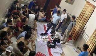 Nghệ An:Tóm gọn 42 người đang say sưa đánh bạc lúc nửa đêm