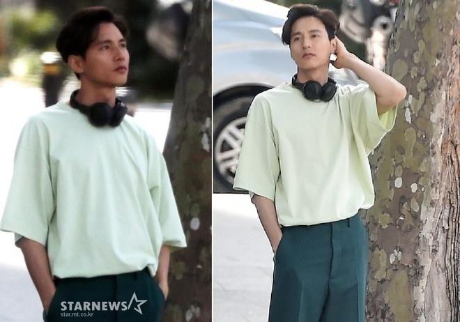 Bất ngờ diện mạo trẻ mãi không già của Won Bin sau 10 năm ngừng đóng phim