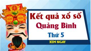 XSQB 21/5 - Kết quả xổ số Quảng Bình hôm nay thứ 5 ngày 21/5/2020
