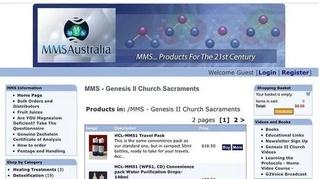 Một nhà thờ tại Australia ngang nhiên rao bán chất tẩy chữa Covid-19