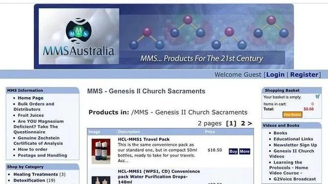 Bán chất tẩy chữa Covid-19, một nhà thờ tại Australia bị phạt
