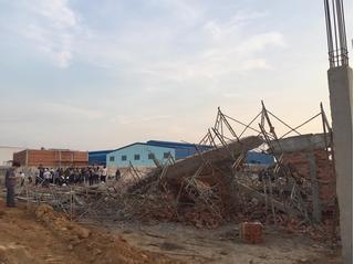 Sập tường 10 người tử vong Đồng Nai: Nhà thầu nói có cơn gió lốc kì lạ?!