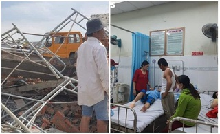 Người thoát chết hãi hùng kể lại giây phút sập tường ở Đồng Nai